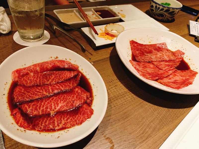 神楽坂焼肉kintan(きんたん)個室ディナーメニューを一休で予約09