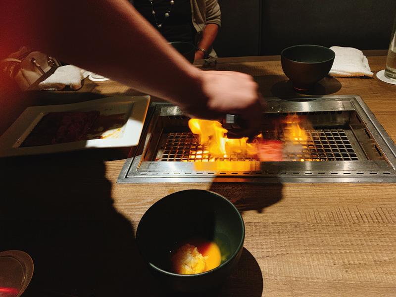神楽坂焼肉kintan(きんたん)個室ディナーメニューを一休で予約11