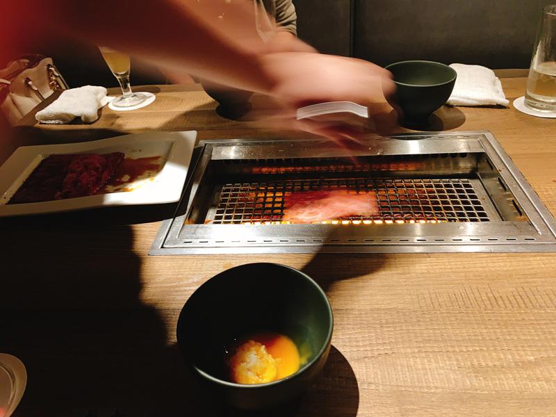 神楽坂焼肉kintan(きんたん)個室ディナーメニューを一休で予約12